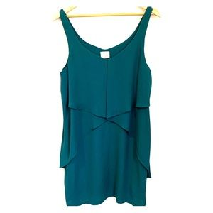 Urban Outfitters Flowy Teal Mini Dress